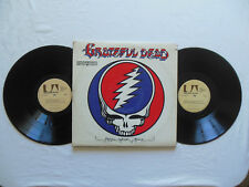 THE GRATEFUL DEAD- STEAL YOUR FACE: Rare Canadian Import, Double LP Gatefold EX+
