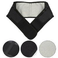 Magnetic Back Waist Support Brace Belt Heating Lumbar Lower Waist Pain Relief