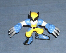 Marvel Super Hero Squad RARE Astonishing Wolverine Logan Light Blue X-Men