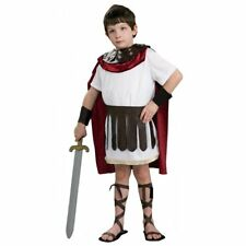 Roman Gladiator Hercules Greek Warrior Boys Kids Cosplay Fancy Dress Costume