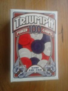 TRIUMPH POKER CHIPS 100