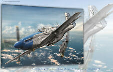 "P-51D-10-NA ""Moonbeam McSwine"" Aviation Art Canvas print"