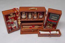 Maison de Poupées Miniature Handmade Aile Porte Cabinet Vampire Kit pour chasseurs de vampires