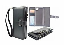 iPhone 6S Plus Wallet Case,  Card Slots, Wrist Strap, PU Leather
