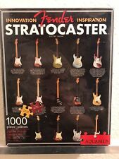 """NEW...Fender Stratocaster 1000 Piece Puzzle. 20"""" X 27"""" by Aquarious"""