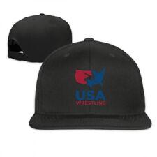 USA Wrestling Adjustable Cap Snapback Baseball Hat