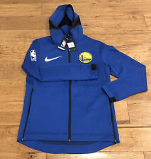 Nike Golden State Warriors Showtime Therma Flex Hoodie Jacket Medium 940128-495
