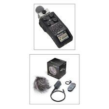 Zoom H6 Noir Handy Portable Enregistreur Bundle
