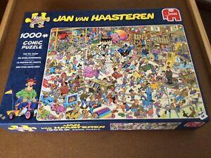 """Jan Van Haasteren 1000 Piece Puzzle...""""THE TOY SHOP"""""""