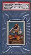 1955 Barratt Walt Disney Characters #19 Pinocchio PSA 7