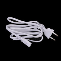 1.5M EU European 2-Prong Port AC Power Cord Cable for apple TV PS2 PS3 Cable