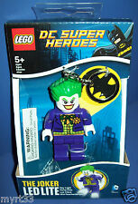 LEGO DC SUPER HEROES  LED LITE Key Chain Lite - THE JOKER lights up NISB