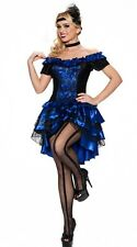DANCE HALL QUEEN Costume Dress Feather Flapper Headpiece Medium Large 6 8 10