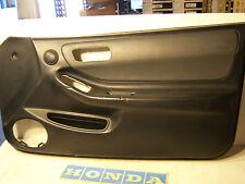 1995 Acura Integra GS leather front passenger right door panel black grey