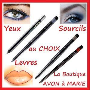 EYE LINER Crayon Yeux Sourcils, Levres AVON Couleur au Choix Frais PORT Réduit!!
