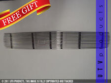 GTG 1964 1/2 - 1966 Ford Mustang 1PC Polished Upper Overlay Billet Grille Grill