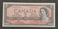 Canada 1954 Bouey Rasminsky BC-38c $2.00 Banknote LG 693394 UNC