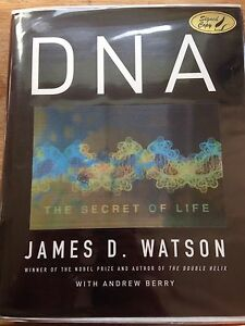 DNA: The Secret of Life, Signed By James D. Watson.