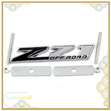 1x New Grille Small Z71 OFF ROAD Emblem Badge For Silverado Sierra Tahoe