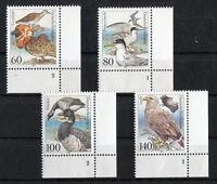 Bund 1539 - 1542 ** Formnummer postfrisch Eckrand FN Ecke 4 Motiv Vögel MNH