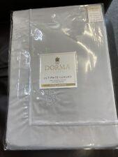 DORMA ULTIMATE 1000 THREAD COUNT COTTON SATEEN DUVET COVER  (no pillowcase)