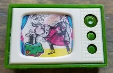 1960s Sterling Wiggle TV Pencil Sharpener - Magician and Rabbit