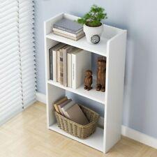 3-Shelf Economic Wood Bookcase Storage Shelf Book Enterway Bookshelf Furniture