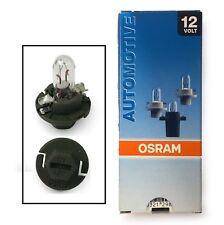 New Original OSRAM 12V 1.3W Spare Indicator / Dashboard Bulbs 2431MFX6 BX8.4d