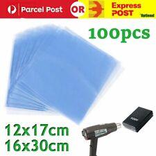 100pcs Heat Shrink Wrap Bags For Soaps Bath Bombs DIY Soft Transparent Wrap Pack