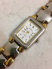 Le Baron Ladies Designer Gold And Silver Tone Working Quartz Watch