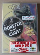 Troma Monster in the closet - DVD All Zones - SMV 2018709 - 2003 - SEALED