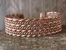 Bracelet by Verna Tahe! Navajo Indian Jewelry Handmade Copper