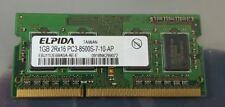 ELPIDA 1GB 2RX16 PC3-8500S-7-10-AP Laptop Memory Ram EBJ11UE6BASA-AE-E