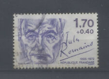 FRANCE TIMBRE OBLITERE N° 2356 PERSONNAGES CELEBRES 1985 JULES ROMAINS o2