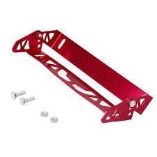 Aluminum Alloy Adjustable Rotating Number JDM Car License Plate Frame Holder RED