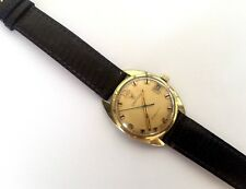 VINTAGE CROTON TROPARTIC A52 - F391 1951 MECHANICAL WATCH RUNS 203 7015 CASE