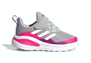 ADIDAS H04131 FortaRun EL I Inf`s (M) Grey/White/Pink Textile Running Shoes