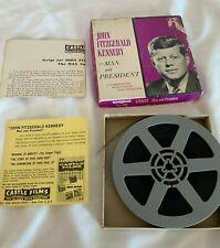 John Fitzgerald Kennedy - Man Et Président Vintage 8mm Film