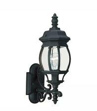 Sea Gull Lighting 88200-12 Wynfield Outdoor Wall Light, Black Brand new