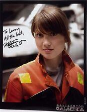"Battlestar Galactica Autograph 8x10 Nicki Clyne ""Cally Henderson"" (Lhau-830)"