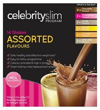 Celebrity Slim 7 Jours Assorti Shakes (14 x 55g Sachets Shaker)