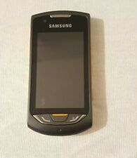 Samsung Monte S5620 - Black - Mobile Phone - Untested - Spares Or Repairs