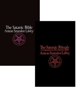 Anton Szandor LaVey: The Satanic Rituals & The Satanic Bible SET 2 BOOKS