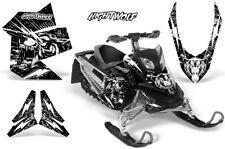 Ski-Doo Rev XP Decal Graphic Kit Sled Snowmobile Sticker Wrap 08-12 NIGHTWOLF W