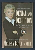 Denial and Deception: An Insider's View of the CIA by Melissa Boyle Mahle (2005)