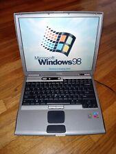 Dell Latitude D600 Laptop Windows 98, 1.6GHz, 40GB HD , 14