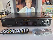 VIDEOREGISTRATORE VHS SONY SLV-SE820 TOP DI GAMMA PERFETTO IN TUTTO CON TELECOM