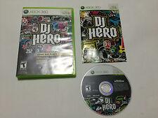 DJ Hero (Microsoft Xbox 360, 2009) Tested Complete