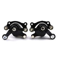 Pair Rear+ Front Brake Caliper Mechanical Disc Cable Mountain Bike MTB Rotor ATV