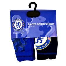 Chelsea 2 Pack Holgado Azul Bóxers Niño - AGE 5-6